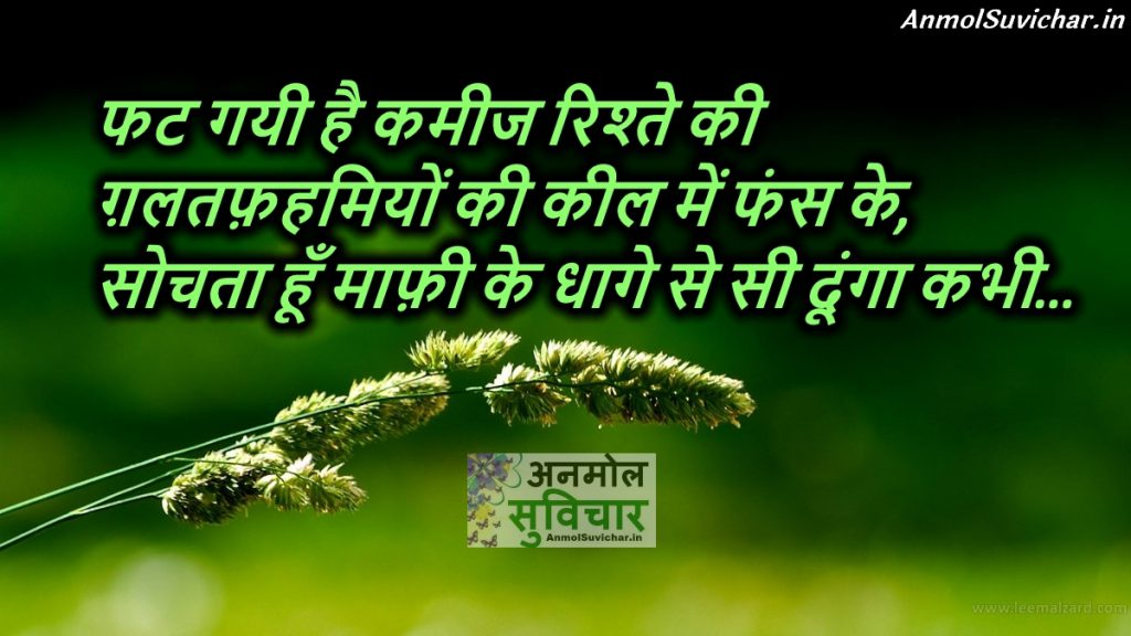 Insaan Hindi Suvichar Shayari Picture